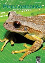 Phyllomedusa - Journal of Herpetology